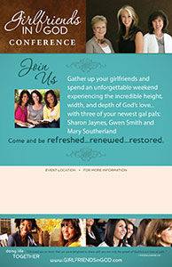 Girlfriends in God Conference Poster